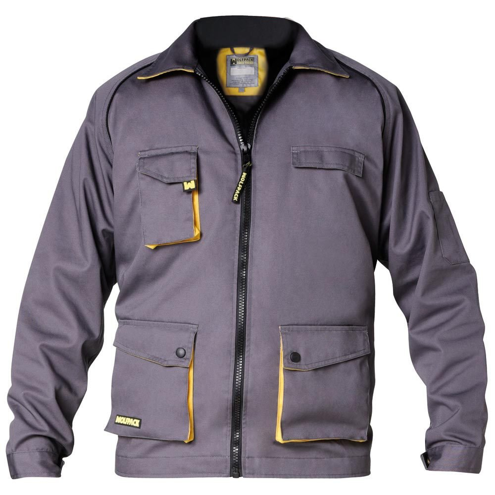 Wolfpack 15017005 - Chaqueta de trabajo trend, talla 52/54 L,Hombre / Mujer