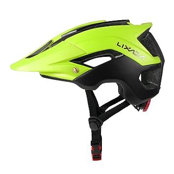 Lixada Casco de Ciclismo de Montaña Casco Protector Ultraligero de Seguridad Deportiva 13 Orificios de Ventilación