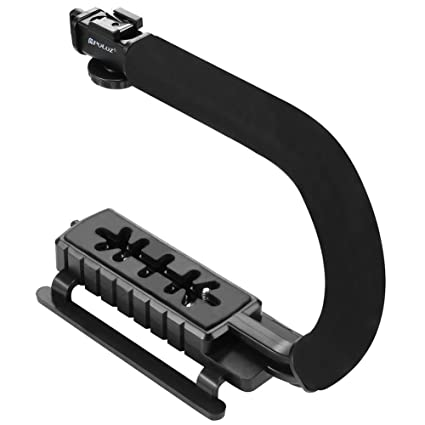 Asa de la cámara - C Tipo DV estabilizador de mano estabilizador ...