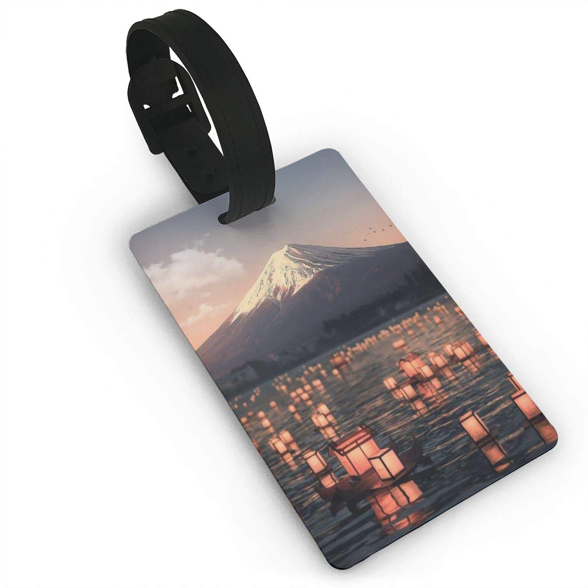 Mount Fuji Cruise Luggage Tag For Travel Tags Accessories 2 Pack Luggage Tags