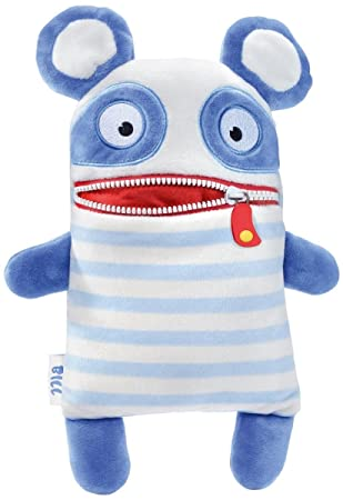 Schmidt Spiele Bill Monstruo Azul, Color Blanco - Juguetes de Peluche (Monstruo, Azul