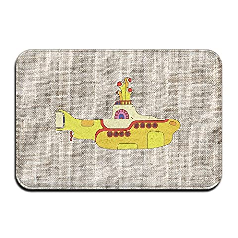 Fashions The Beatles LEGO Yellow Submarine Personalized Indoor/Outdoor Doormats (The Beatles Lego)