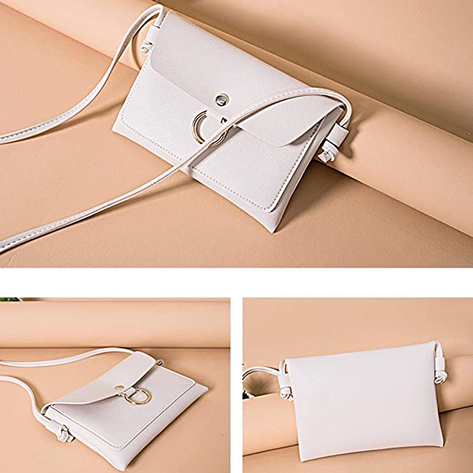 Amazon.com | OrchidAmor Fashion Lady Shoulders Small Backpack Letter Purse Mobile Phone Messenger Bag Beige | Fitness & Cross-Training