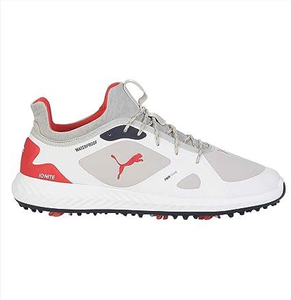 puma red white blue golf shoes - 63