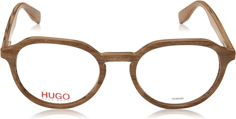 hug Eyeglasses Hugo Hg 323 02WQ Matte Beige Wood