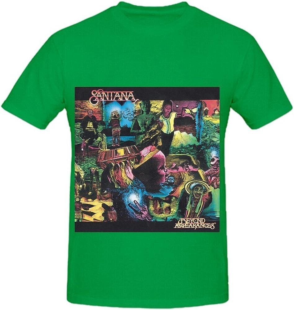Santana Beyond Appearances Funk Mens O Neck Art Shirts