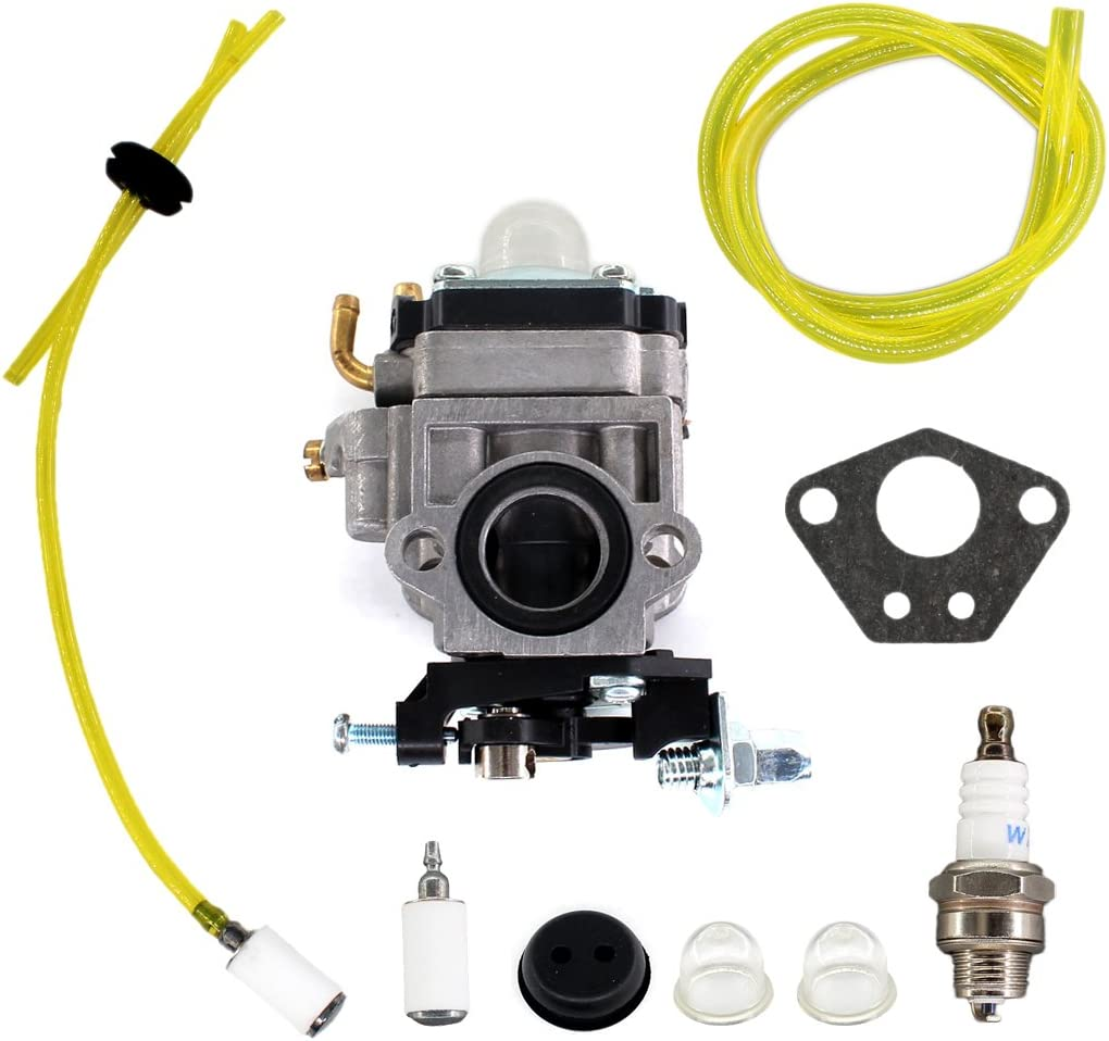 USPEEDA Carburetor with Gasket for Redmax EB7000 EB7001 EB4300 EB4400 EB431 EB4401 Fuel Line Filter Grommet Kit
