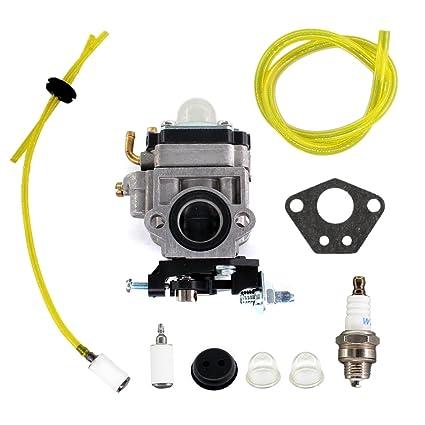 Amazon.com: uspeeda carburador para Redmax eb7000 eb7001 ...