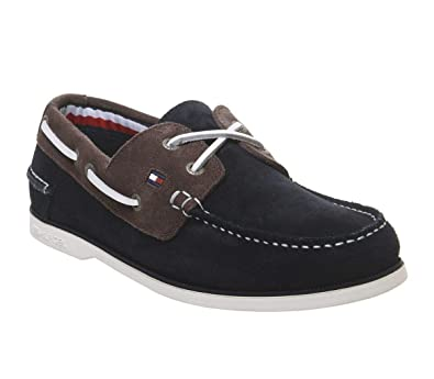 b4f5d464ff30 Tommy Hilfiger Men s Classic Suede Boat Shoes