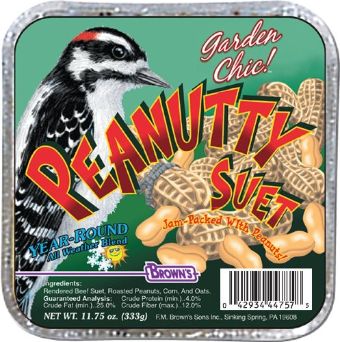 (F.M. Brown's, Garden Chic Suet and Bread Cakes, 11-3/4-Ounce Peanutty)