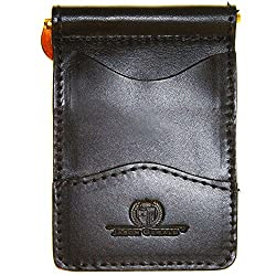 Money Clip Wallet for Men Black Perfect for Front or Back Packet And MADE IN USA by Jason Gerald