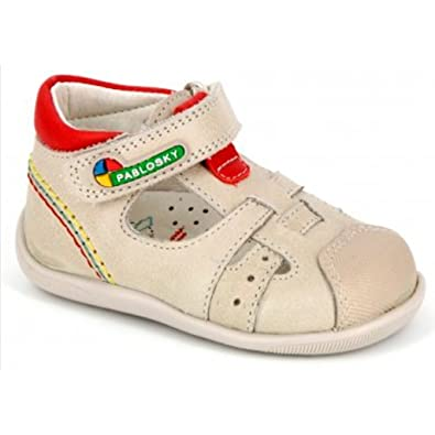 Chaussures Pablosky beiges fille