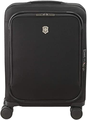 Victorinox Connex Softside Spinner Luggage, Black, Carry-On-Global 22