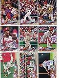 Philadelphia Phillies / Complete 2018 Topps Series 1 Baseball 10 Card Team Set! Includes 25 bonus Phillies Cards!