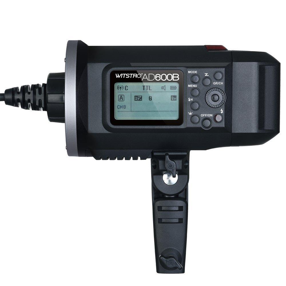 Godox AD600B TTL Bowen Mount GN87 600W HSS 1/8000s 2.4G Wireless with 8700mAh Lithium Battery Outdoor Studio Strobe Flash,Godox XPro-F Flash Trigger for Fuji Camera by Godox (Image #4)