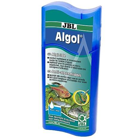 JBL - Limpiador de algas «Algol» para acuariofilia - 100 ml (Para 1000