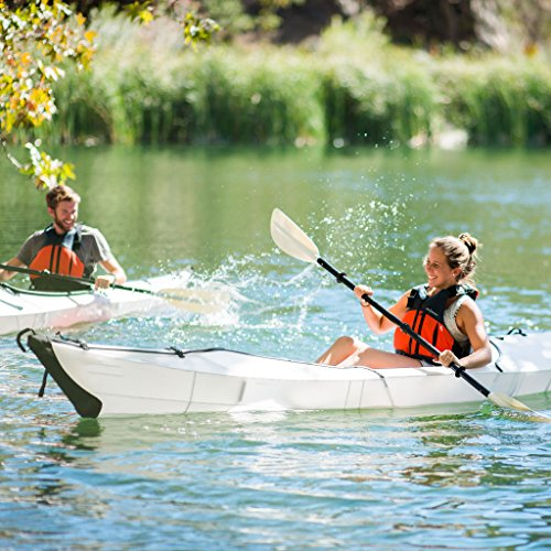 Elevens Cruise Plus Foldable and Portable Kayak (White)