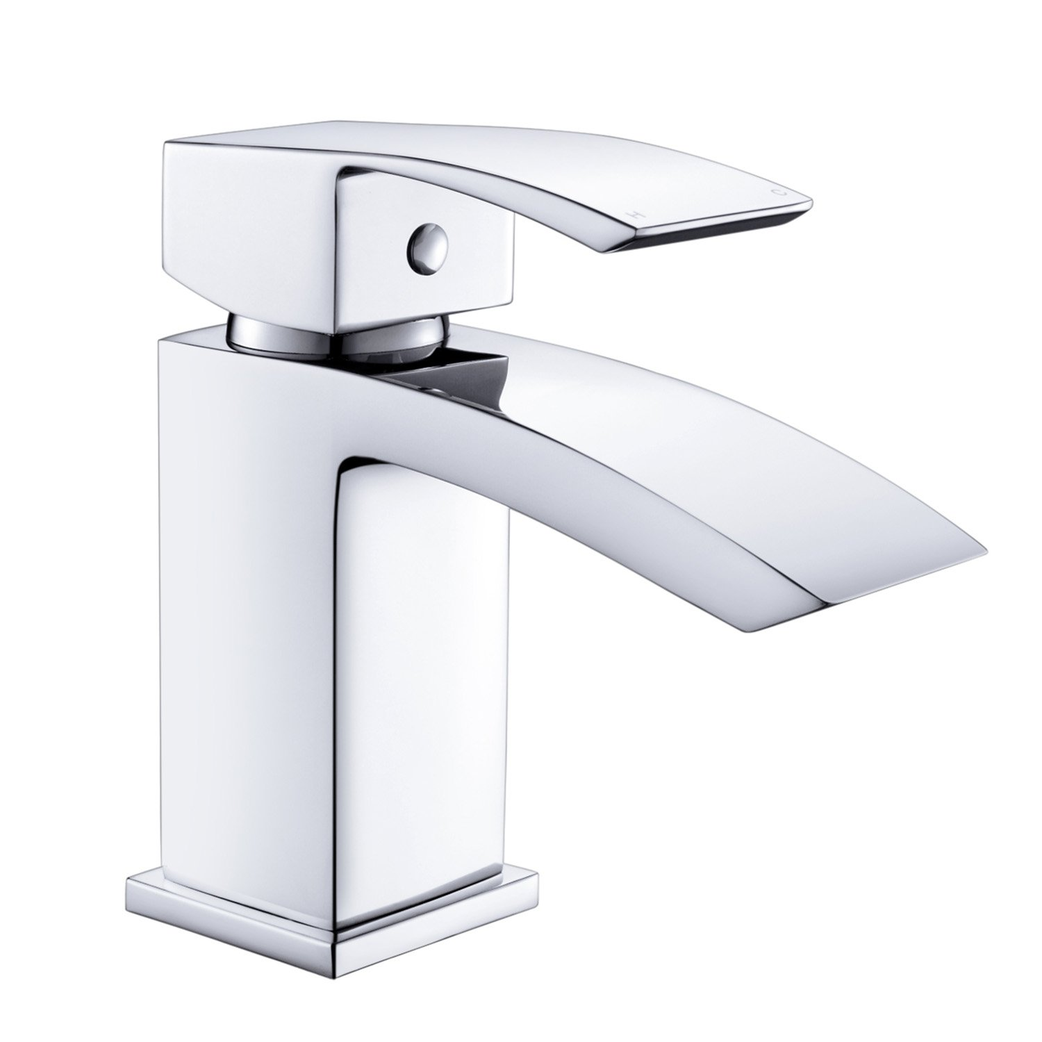 Celala Square Thermostatic Bar Mixer Shower Set Head + Handset Chrome