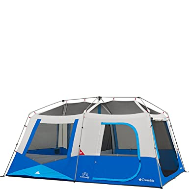 Columbia Sportswear Fall River 10 Person Instant Dome Tent (Compass Blue)  sc 1 st  Amazon.com & Amazon.com : Columbia Sportswear Fall River 10 Person Instant Dome ...