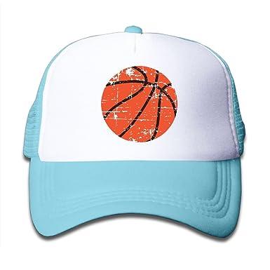 Amazon.com  Clarissa Bertha Distressed Basketball Kids Boys  Girls   Baseball Caps Mesh Hats  Clothing 0c5ed5a6301