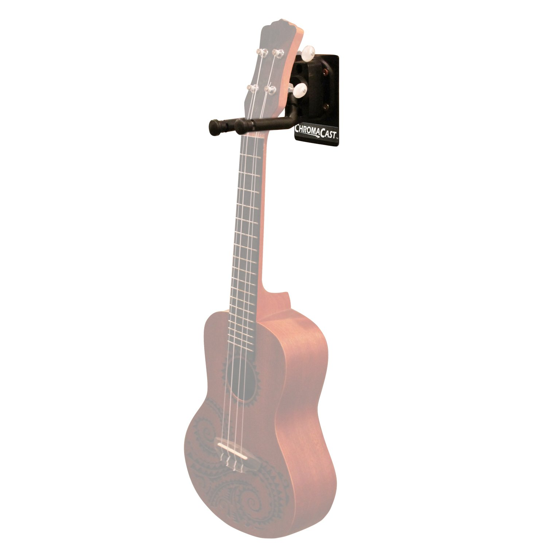 chromacast cc gwall metal padded guitar ukulele wall