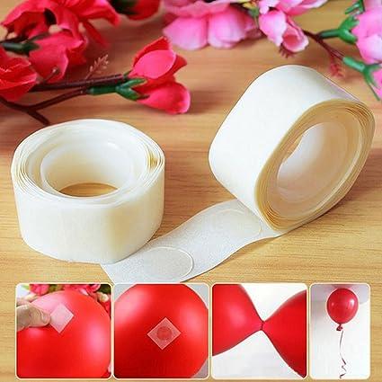 2 roll 100 Dots Glue Permanent Adhesive Bostik Wedding Party Balloon Decor HOT