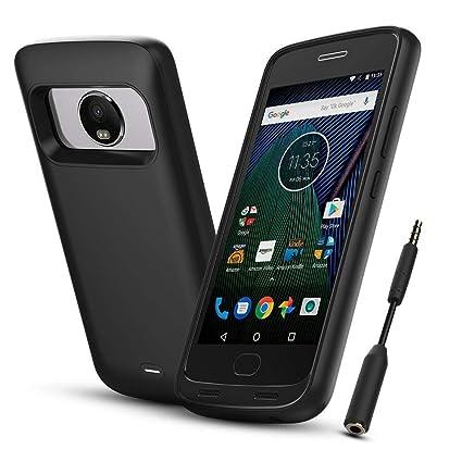 Amazon.com: ICONIC Moto G Plus (5ª generación) cargador de ...