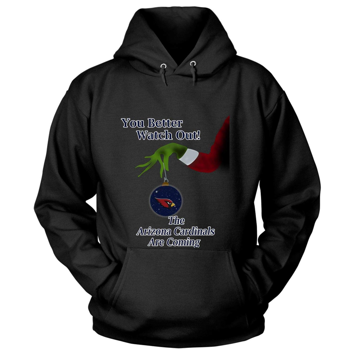 Check out this awesome The Arizona Cardinals are Coming T Shirt Christmas T Shirt – Hoodie