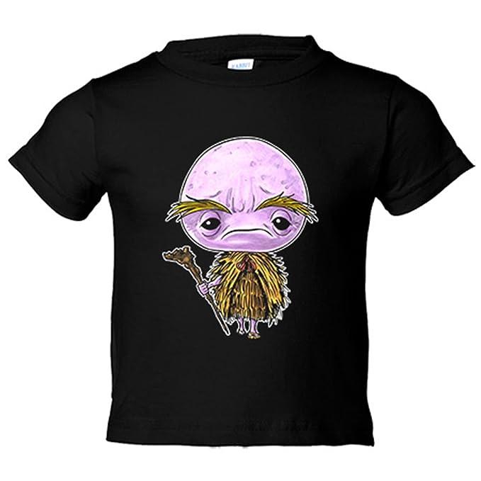 Camiseta niño Chibi Kawaii Abura Sumashi parodia de los Yokai Japoneses Nikochan - Amarillo, 3-4 años: Amazon.es: Bebé