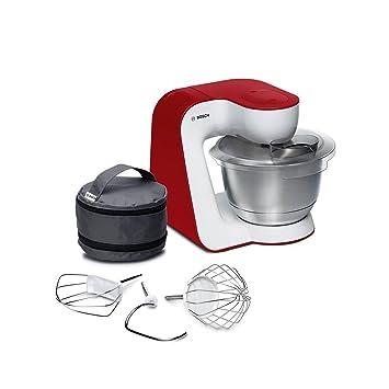 Amazon.de: Bosch MUM54R00 Küchenmaschine StartLine Edelstahl ...