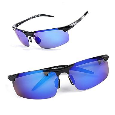 00acc74732a Amazon.com  Hoyee Eyes Sports Tr90 Polarized Sunglasses UV ...