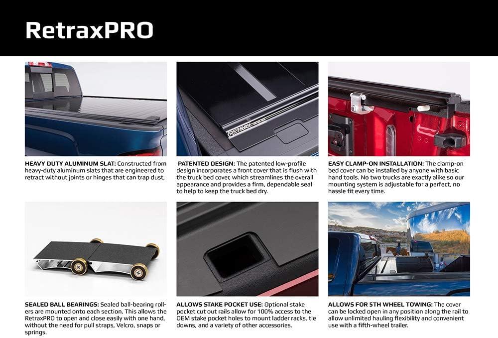 Amazon Com Retraxpro Retractable Truck Bed Tonneau Cover 40460