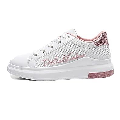 Schuhe Turnschuhe Filetarbeits Damen Mode Breathable Yg6yv7bf