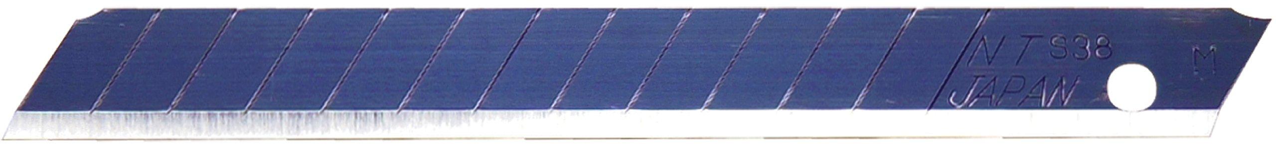 NT Cutter Ultra Sharp Utility Knife Blade, Black (BA-53P)