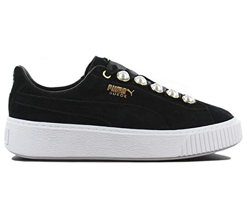 eddee208c1be8f Puma Suede Platform Bling Donna Sneaker Nero: Amazon.it: Scarpe e borse