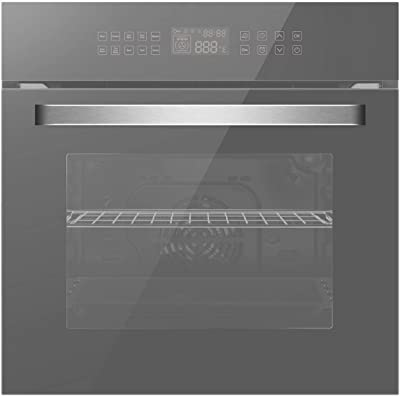 """Empava 24"""" 10 Cooking Functions w/Rotisserie Electric LED"""