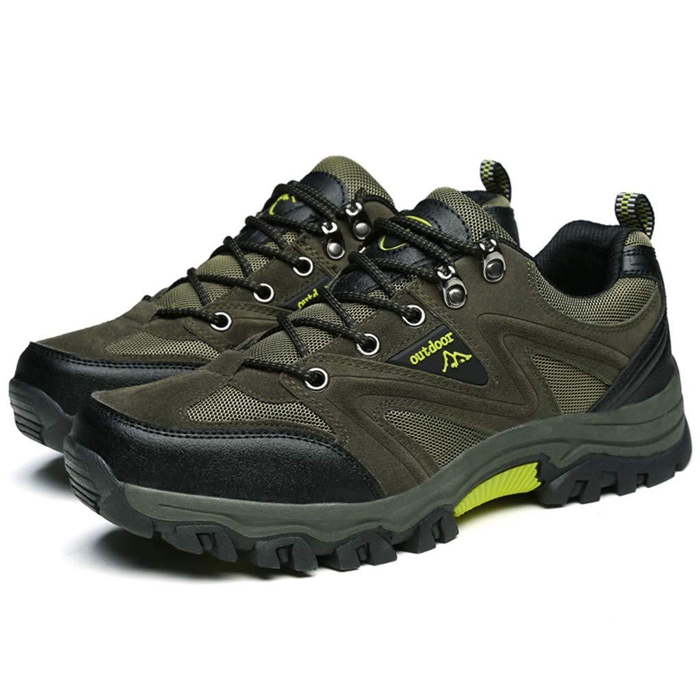 Giles Jones Hiking Shoes Mens Comfortable Anti-Skid Shockproof Mountain Climbing Shoes