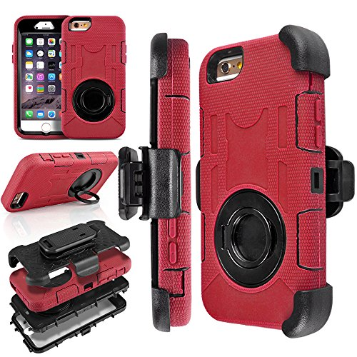 TNP iPhone Case Red Built