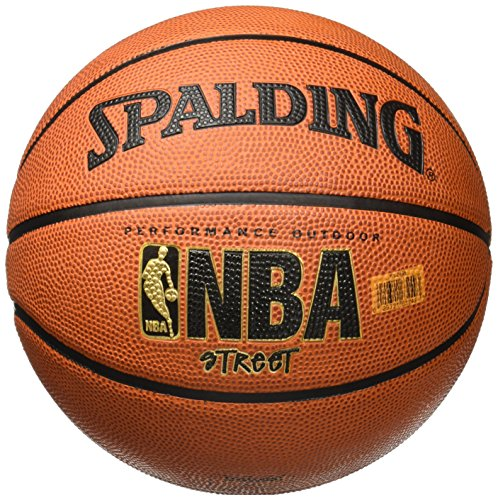 Brown Mens Basketball - Spalding NBA Street Basketball - Official Size 7 (29.5