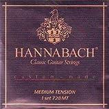 Hannabach Classical Guitar Medium Tension Nylon/Silver, 728-MT