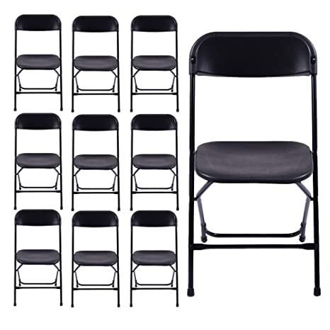 NewzealJX - Juego de 5 sillas Plegables de Comedor para ...