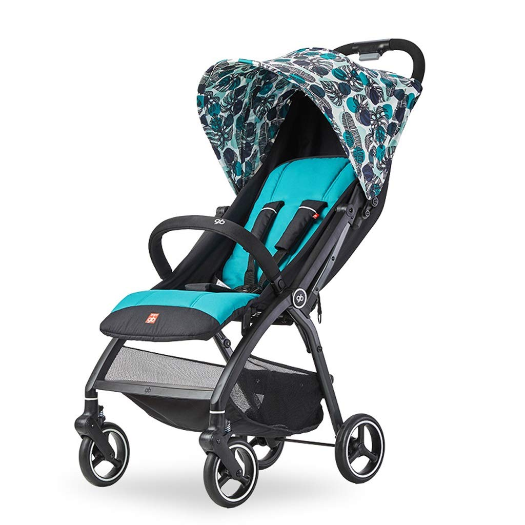 Xiao ping Lightweight Stroller Portable Travel Stroller With Pull Handle Foldable Design ( color   3 )