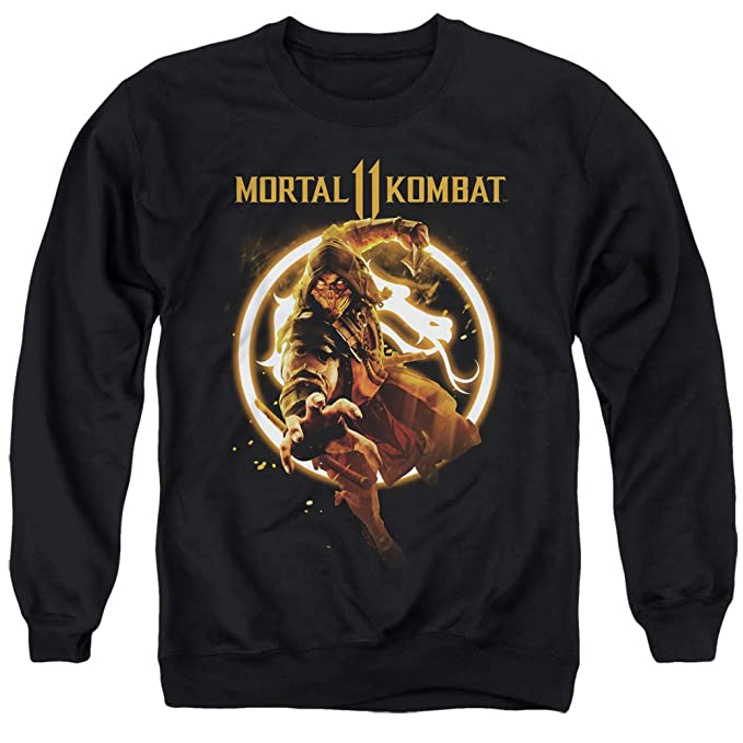 Yoga Clothing For You Mortal Kombat 11 Sweatshirt Scorpion ...