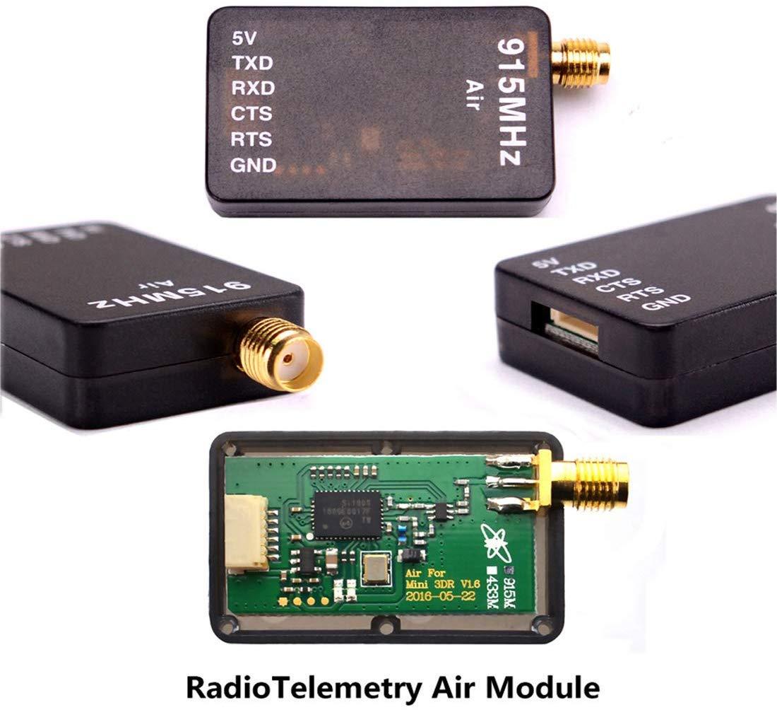 TX-Telemetrie und OTG f/ür das 2,8-Pixhawk-FPV-System APM2.6 500 mW RX ICQUANZX Neues drahtloses 3DR-Daten/übertragungsfunkger/ät mit 915 MHz