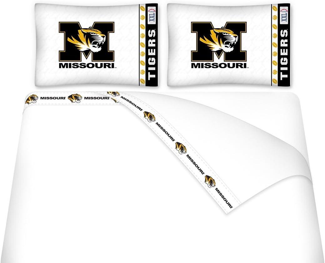 University of Missouri Microfiber Sheet Set