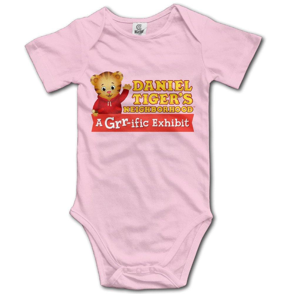 Daniel Tigers Neighborhood Logo Design Baby Boy Girl Jumpsuit Cotton
