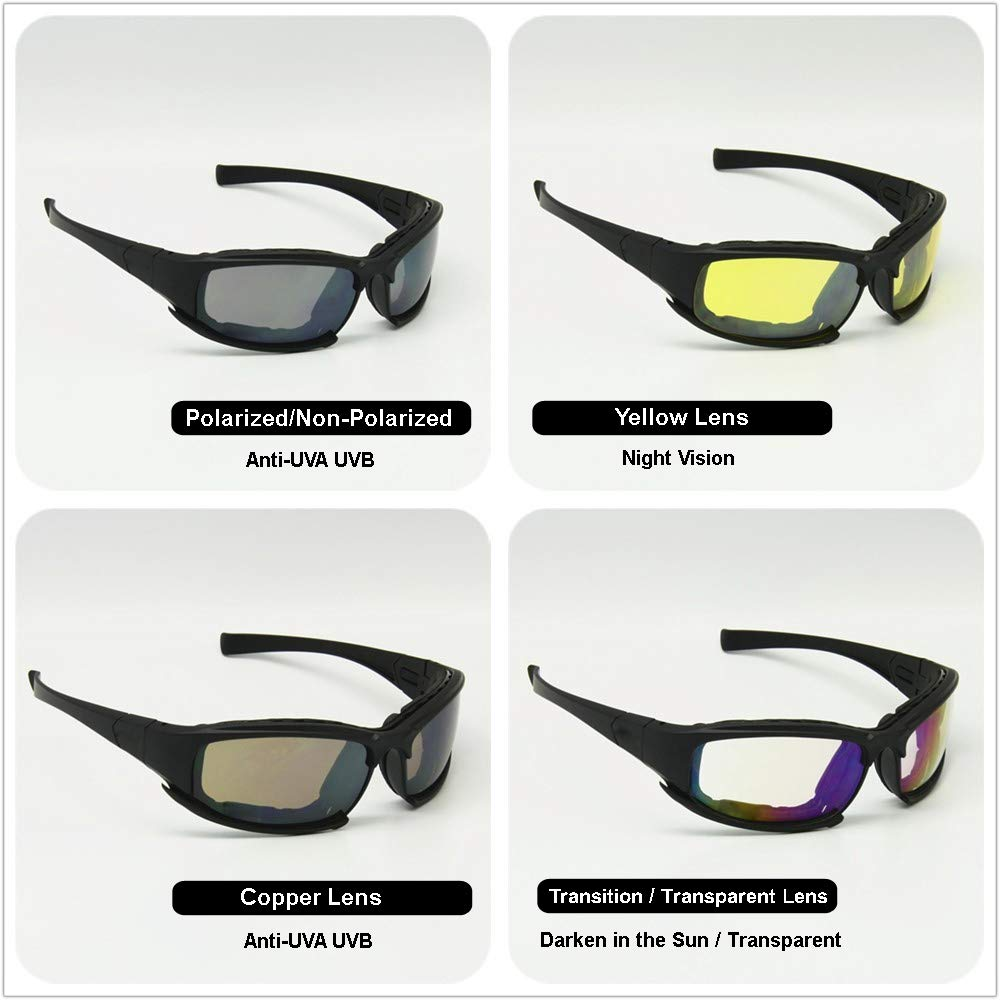 Black lenses - a stylish accessory or enemy of view