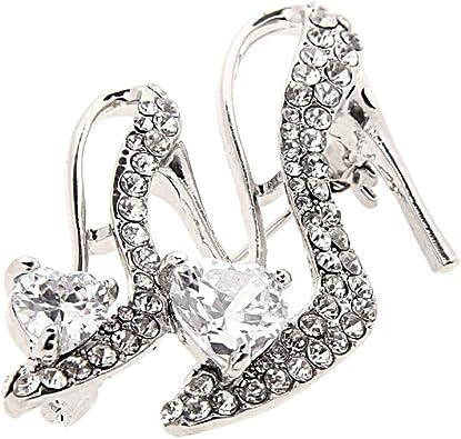 Pour Femmes À Talons Hauts Chaussures Broches Bijoux Accessoires Broche Broche Mariage