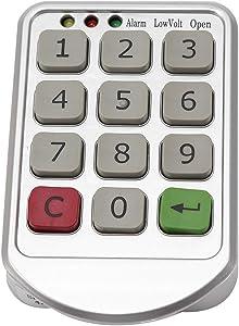 Electronic Cabinet Lock Set, Digit Keypad Password Intelligent Door Code Locks Keyless Locker Safety Security Lock Drawer Knob