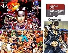 AZ Tech Solutions 400GB SD Card for ODROID XU4 - Sega Saturn, Naomi, Dreamcast, and More